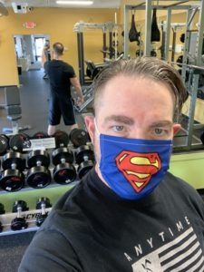 Mask Up In The Gym